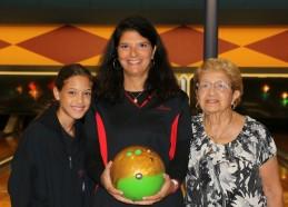 Three generations bowling